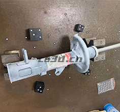 Automobile shock absorber 3D scanning inspection