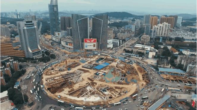 武汉光谷建成亚洲最大城市底下综合体
