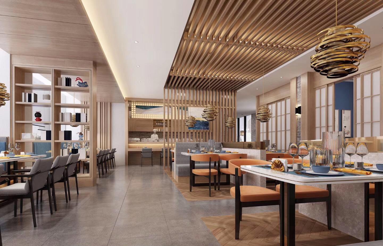 周口璞食中餐厅室内装饰设计