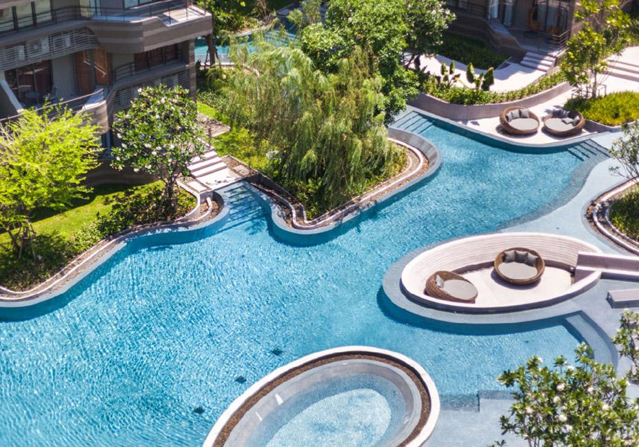 景观游泳池