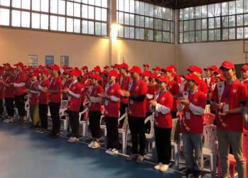 武昌区文明办领导莅临我院 为军运会志愿者加油鼓劲