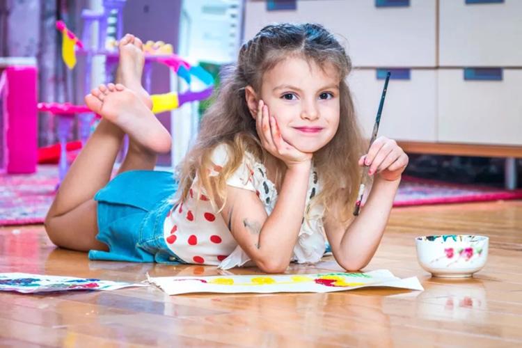 体育:儿女的技能创作,创意比逼真更主要!