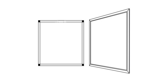 TUV 系列面板燈
