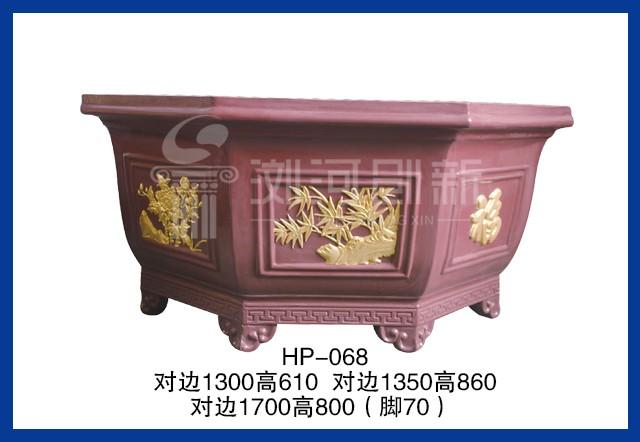 HP-068 八方形水泥花盆模具
