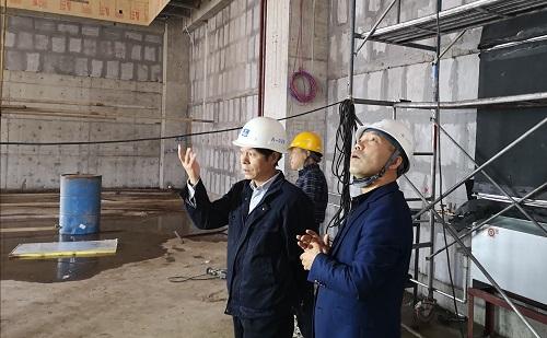 陈小勇总裁等赴河南陕西项目检查指导工作