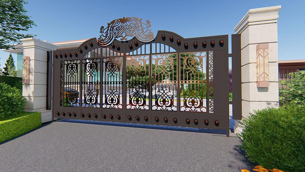 长沙县陈先生别墅庭院设计回顾