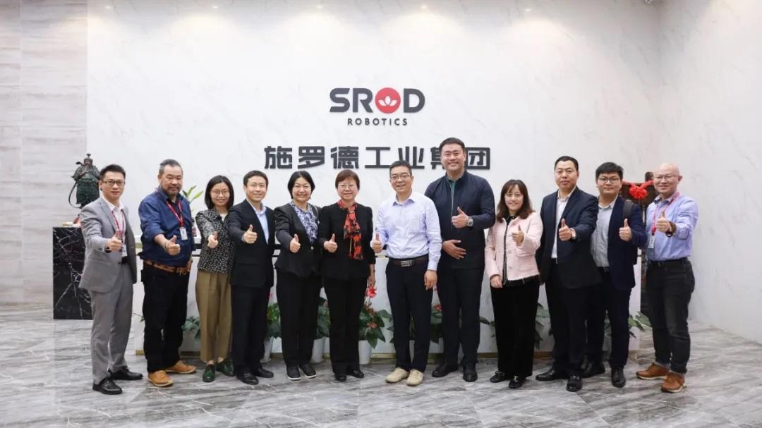 协会会员走访系列活动:走进深圳市施罗德工业集团!