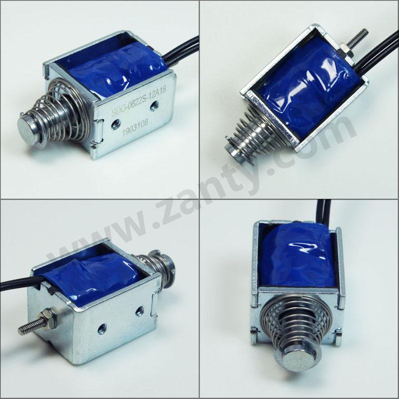电磁铁SDO-0622S 弹珠机弹子游戏机用小型推拉直动电磁铁Solenoid螺线管