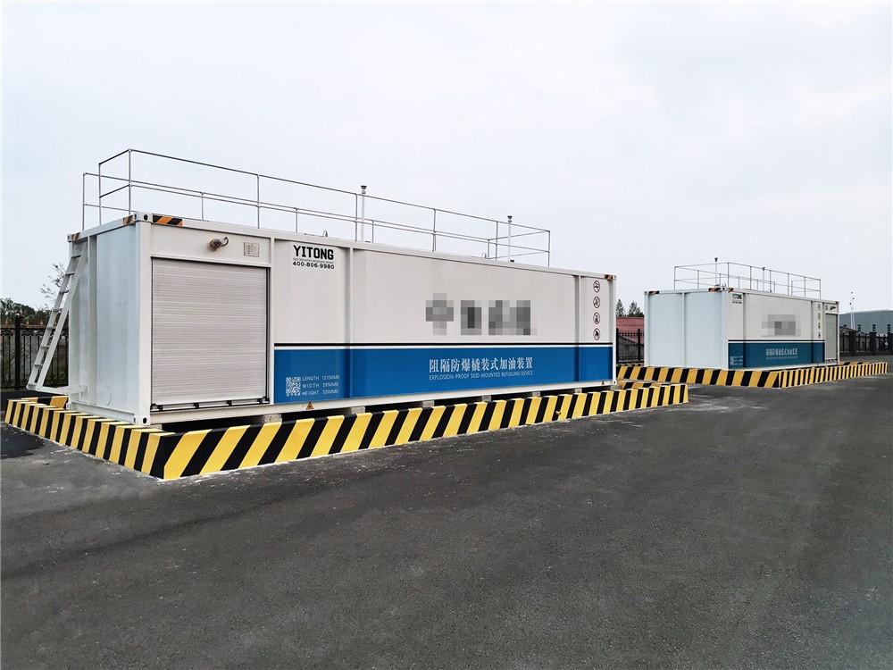 2021两台设备在能源公司落地完成