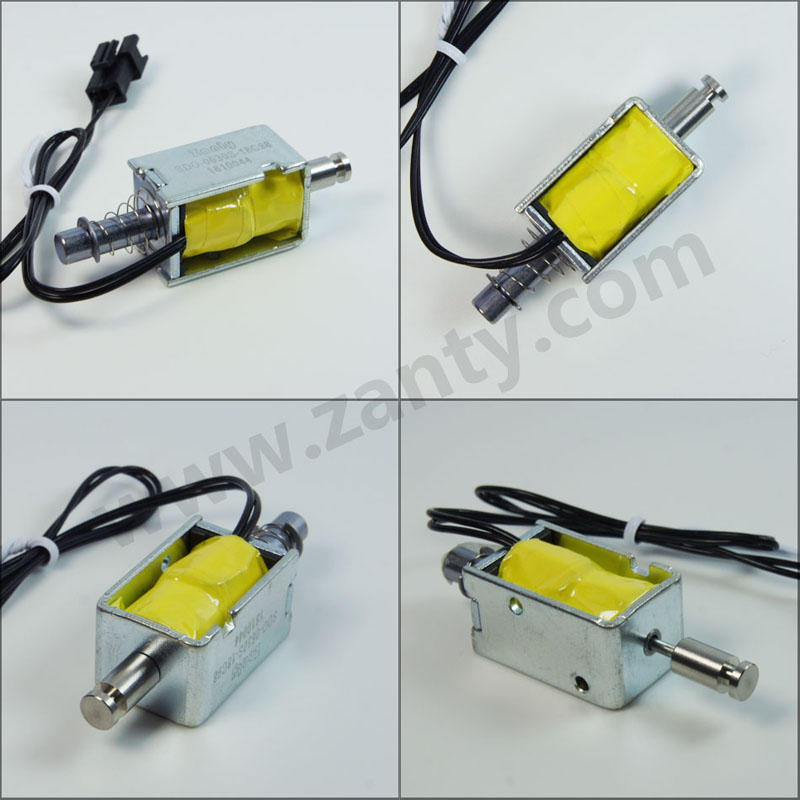 电磁铁SDO-0630S 小家电智能电压力锅排气控制开关推拉电磁铁