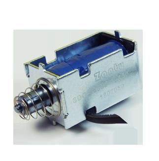 电磁铁SDO-0633S 酒店智能房门锁用小型推拉直动电磁铁螺线管