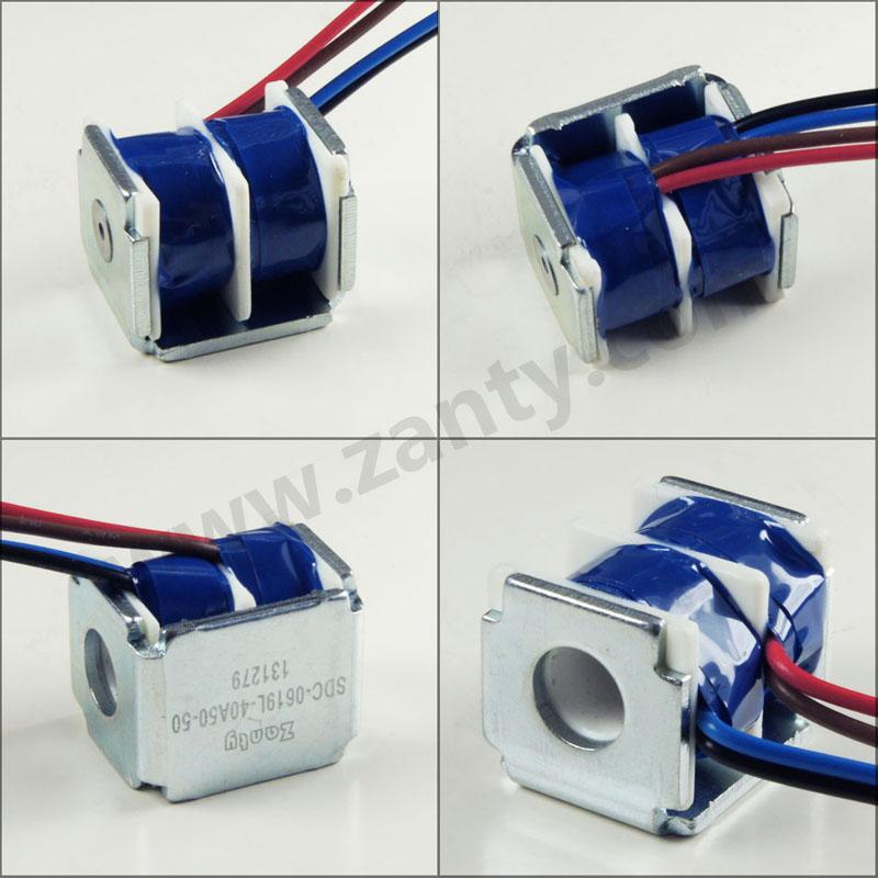 电磁铁SDC-0619L 漏电保护开关电子锁小型推拉电磁铁Solenoid螺线管