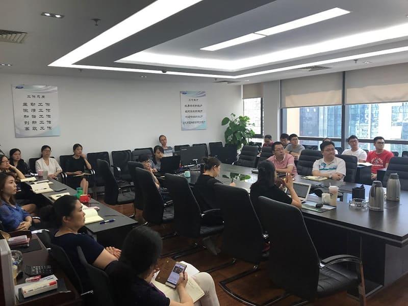 四川瑞康创新科技有限公司组织2018年合同法与营销风险培训