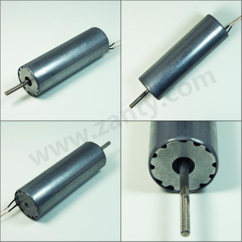 SDT-2890S圆管电磁铁 生活娱乐用品高速大冲击力锂电池供电管状电磁铁
