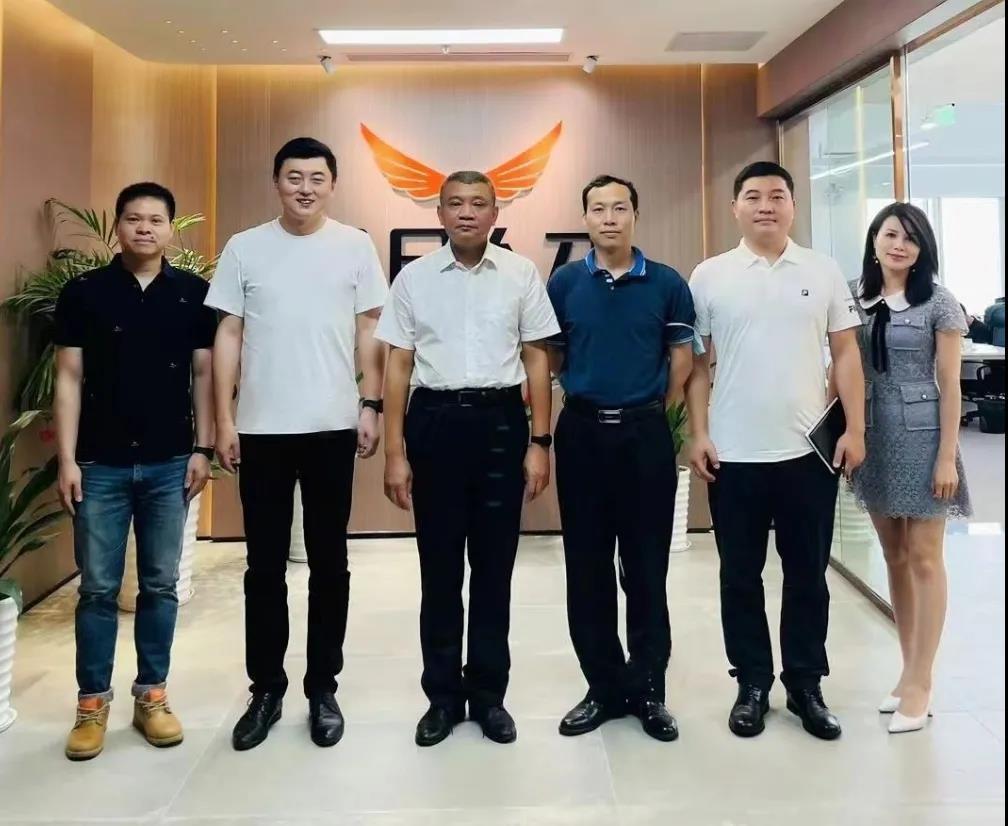 深圳市福田区人力资源局领导莅临今日人才科技