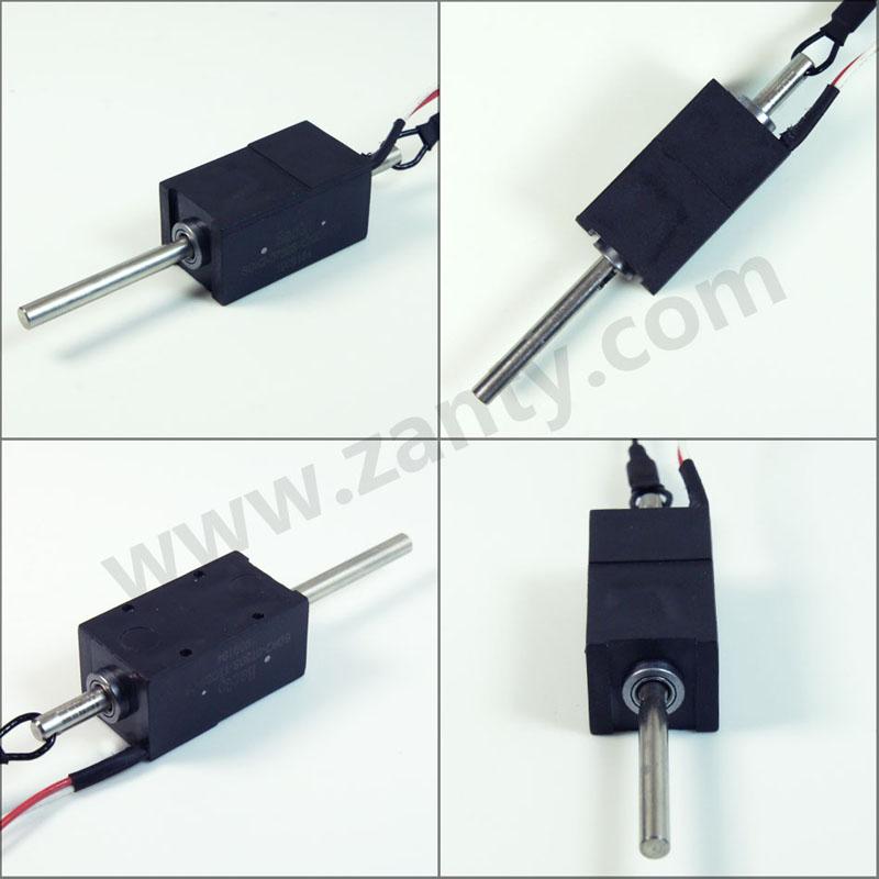 SDK2-0730S包塑双保持电磁铁 新能源汽车充电枪充电座安全电子锁双稳态电磁锁
