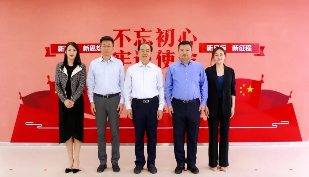CICPMC成长型企业发展委员会主席季晓南ayx娱乐平台到天津恒银金融科技产业园考察交流