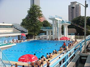 成都市猛追湾游泳场