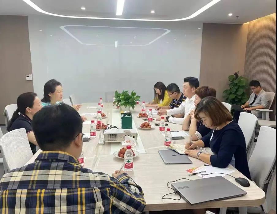 长沙高新区党工委副书记陈志红一行莅临今日人才