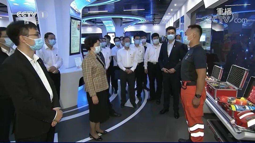 国务院副总理孙春兰到启迪运营的齐鲁军创基地调研