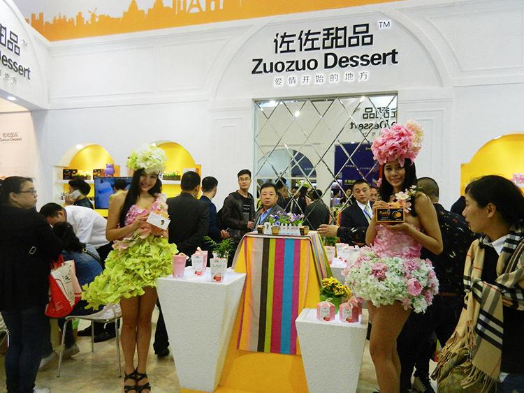 佐佐甜品2016年成都春季糖酒会,现场人气火爆。