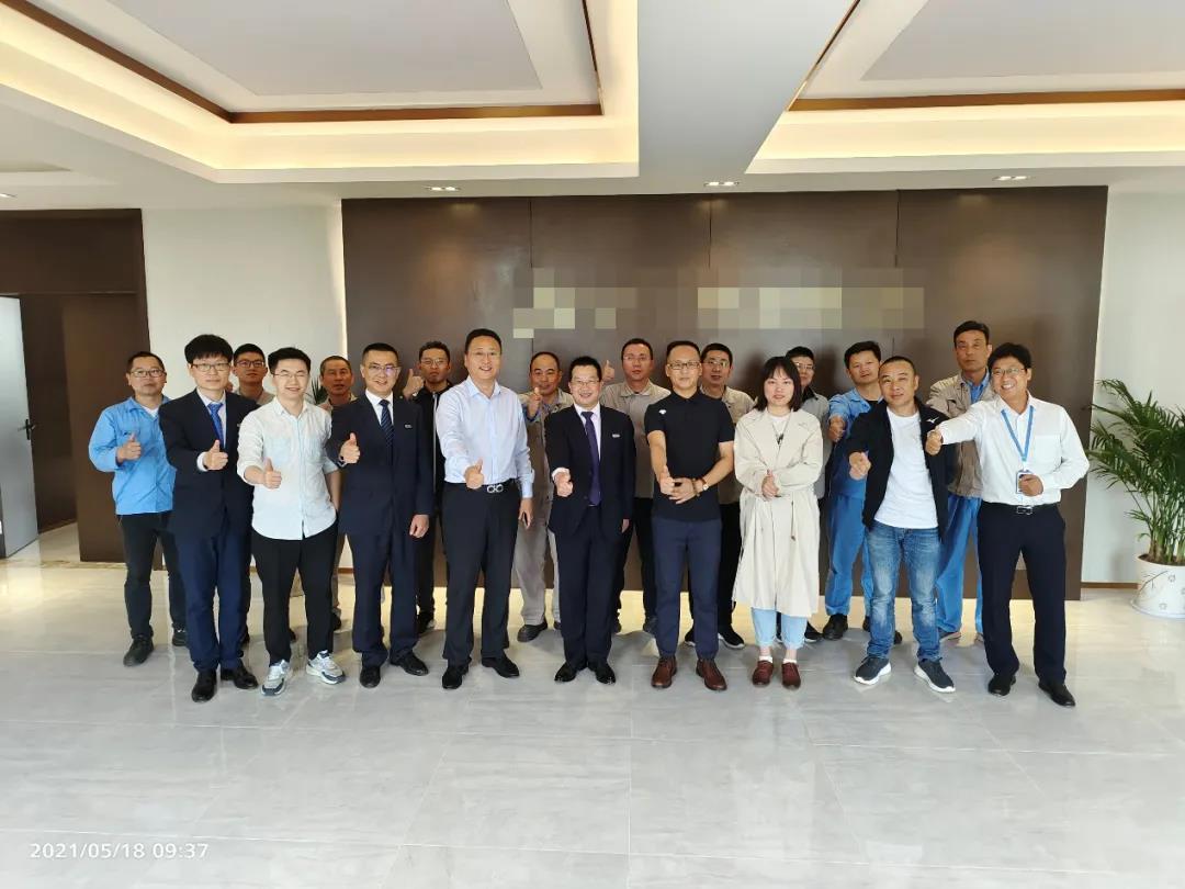 【咨询动态】江苏省某新材料有限公司精益项目启动会