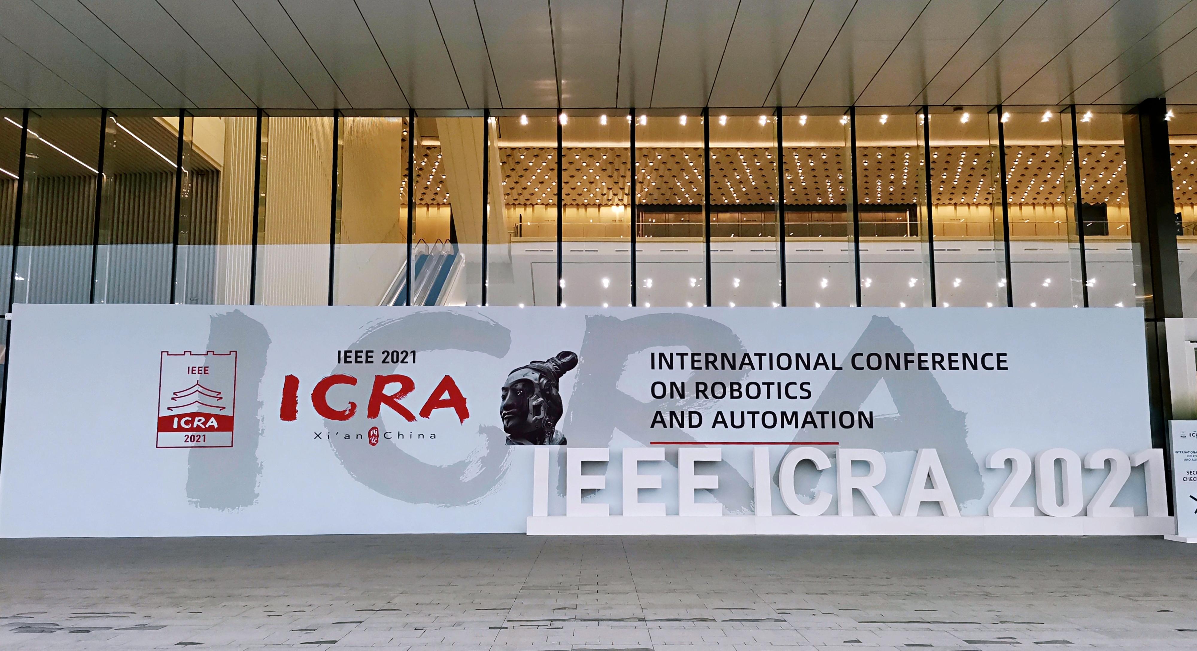 机器人领域顶级学术会议ICRA 2021开幕,金牌赞助商梅卡曼德邀您共聚西安