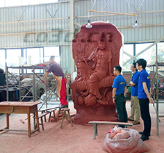 3D scanning of super large Buddha statues
