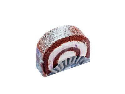 巧克力蓝莓卷