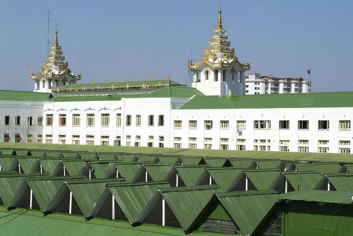 缅甸火车站