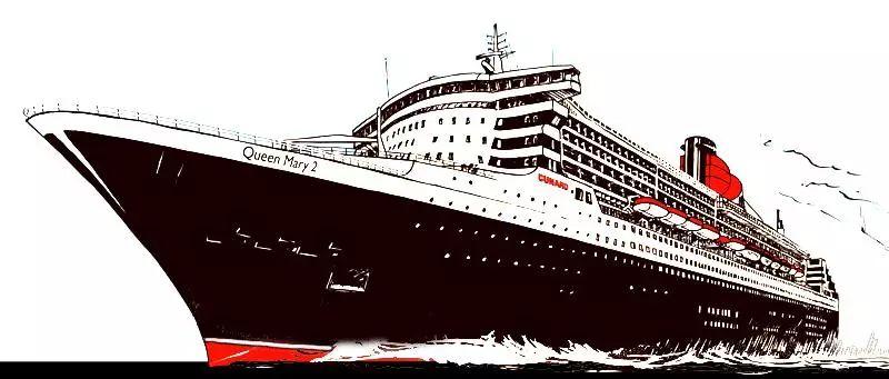 世界上真正唯一横跨大西洋的远洋航行者——冠达邮轮邀您?#38750;?#26053;行,你来不来?