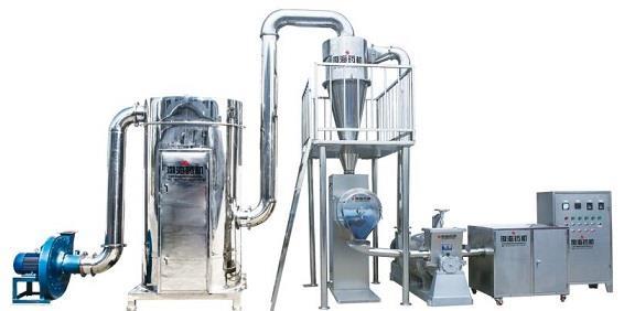 FZ—600型多级粉碎机组(低温、无尘、高效率)