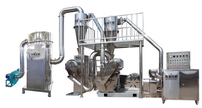 TF—700B型外循环水冷式纤维粉碎机组