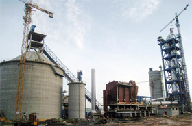 Vietnam Dong Banh 2500t/d Cement Production Line