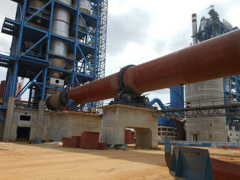 Angola Luanda 2x5000t/d cement production line project (EPC)