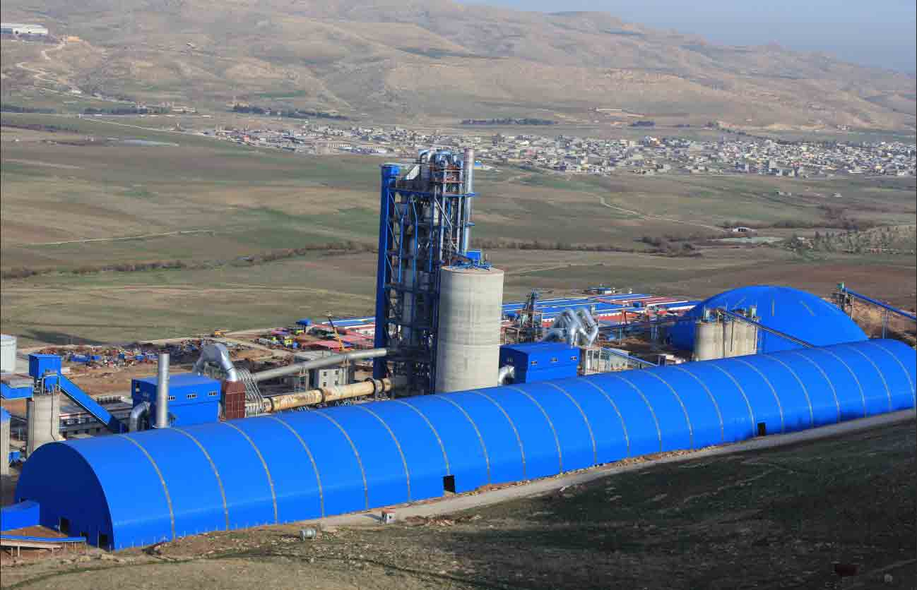 Iraq DELTA 5300t/d Cement Production Line - Middle East