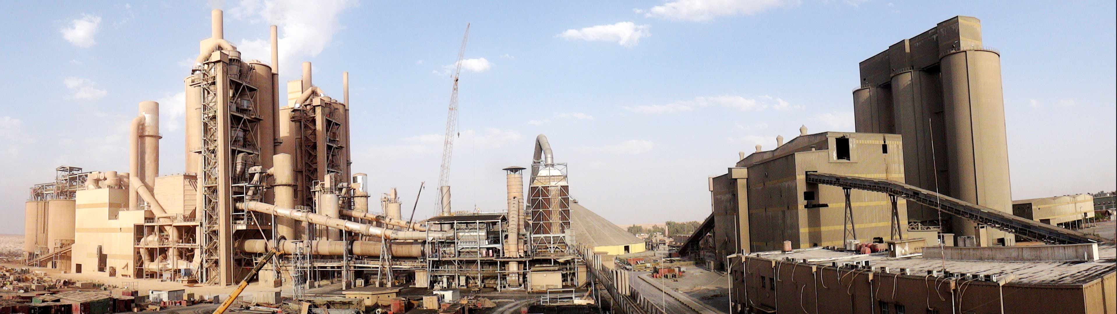 Iraq Karbala 3000t/d Cement Plant Rehabilitation Project