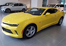 新车到店 17款黄色大黄蜂
