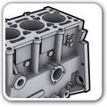 发动机缸体加工案例
