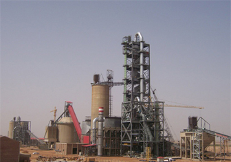 Sultan Alsalam2500t/d clinker cement production line project