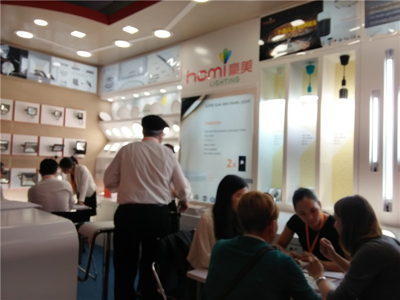 Homi Achieved Great Success with HK Lighting Fair Autumn Version