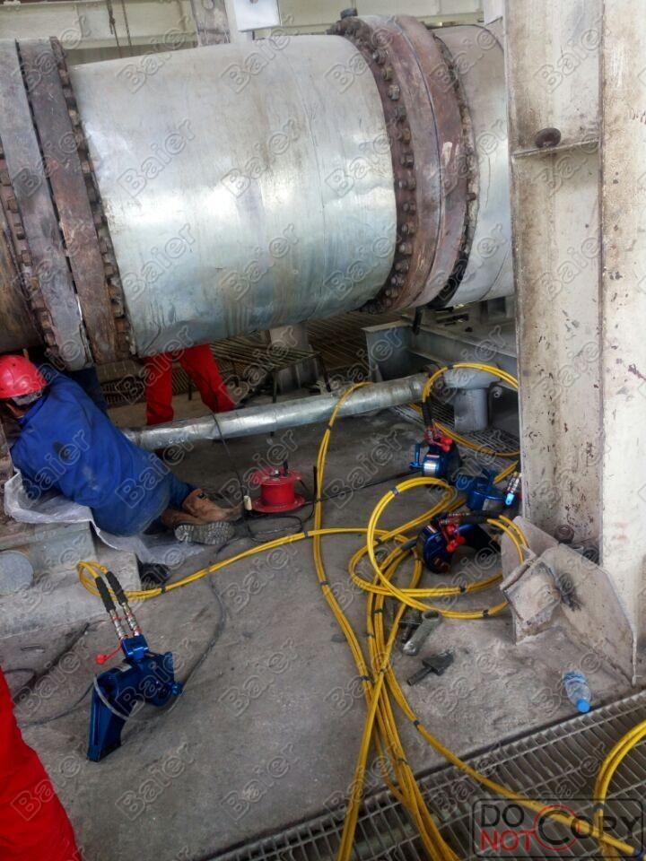炼油厂Baier液压扳手交货现场