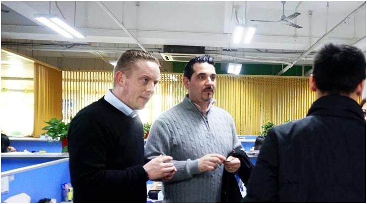 欧洲合作伙伴访问海格总部洽谈业务合作