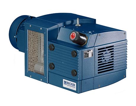 德国贝克BECKER真空泵KVX3.140无油润滑真空泵 旋片式真空泵