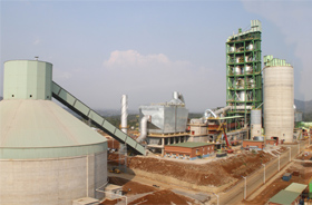 Indonesia SJW 5000t/d Cement Production Line