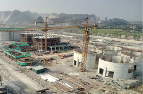 Vietnam THANH THANG 6000t/d Cement Production Line