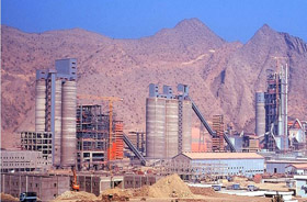 Saudi Arabia SPCC Line3 5000t/d Cement Production