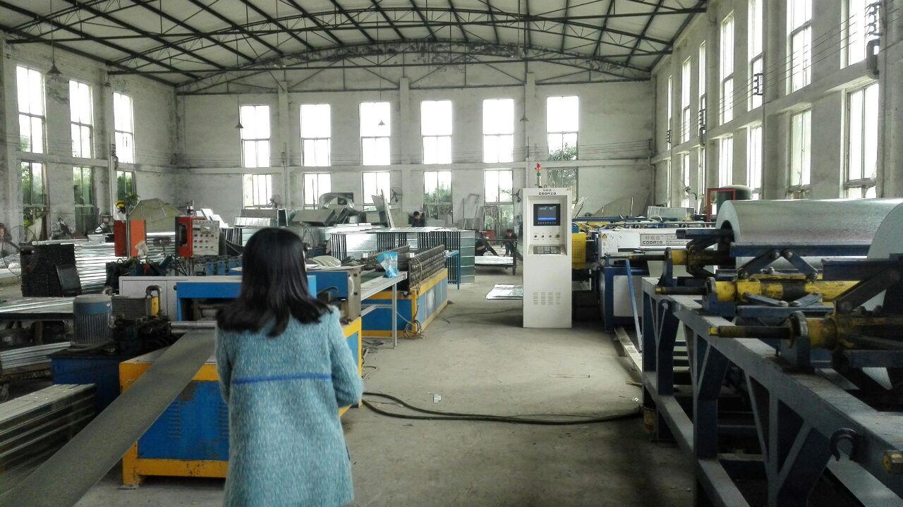 公司供应链部参观重庆某防排烟供应商工厂和办公地点