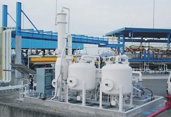 三井水潤滑無油主機在油氣回收設備的使用
