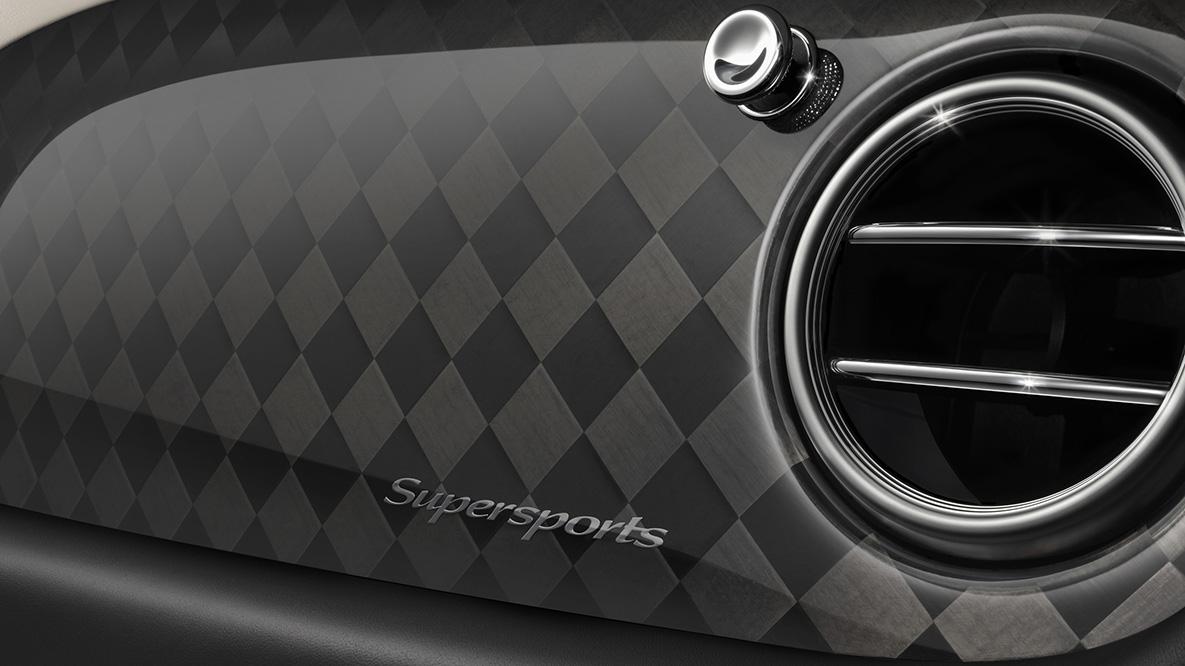 性能最强的宾利:Supersports